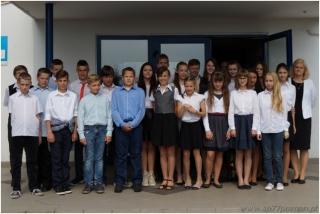 Absolwenci 2015 - klasa 6b