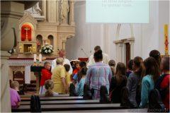 Msza święta nainaugurację roku szkolnego 2014/2015