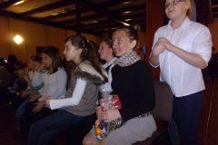 Opłatek dla dzieci w parafii     M. B. Bolesnej