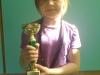 Zwyciężczyni konkursu tańca DISCO