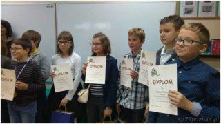 Międzyszkolny konkurs czytania zezrozumieniem dla klas 5