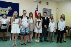 Uroczystość zakończenia roku szkolnego 2013/2014