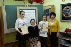 VIII Międzyszkolny Konkurs Pieknego Czytania Prozy