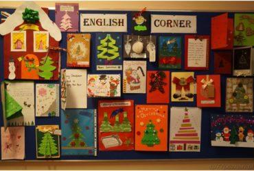 Konkurs nakartkę świąteczną wjęzyku angielskim