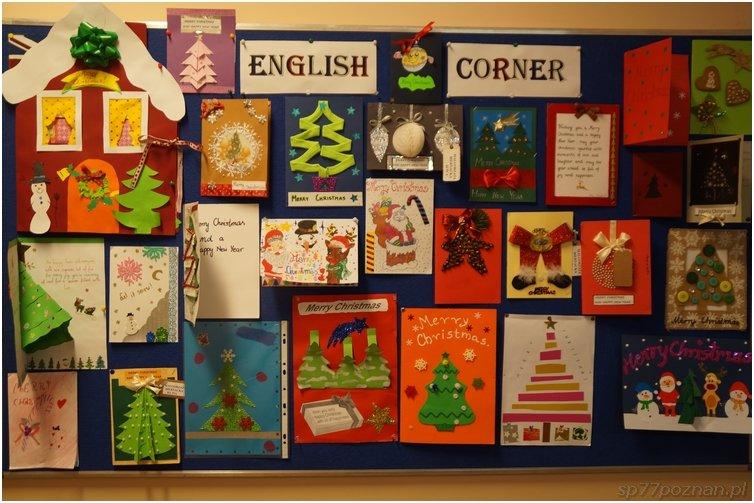 Konkurs nakartkę świąteczną wjęz. angielskim