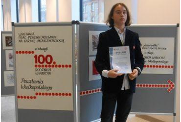Mieszko laureatem konkursu literackiego!