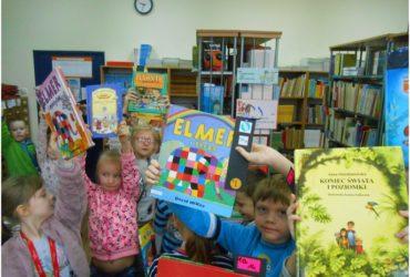 Pierwszaki czytelnikami biblioteki