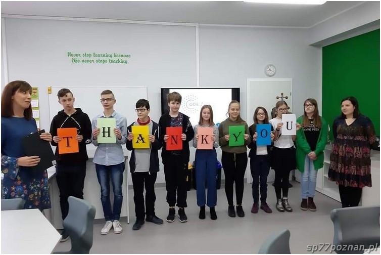 Wizyta grantodawców wpracowni Code for green