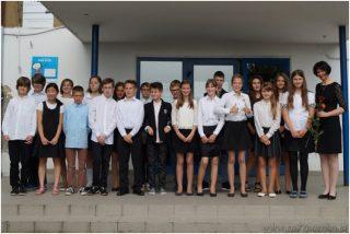 Absolwenci 2015 - klasa 6a