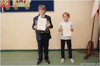 Laureaci Matematycznej Ligi Zadaniowej wroku szkolnym 2015/2016