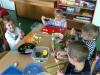Sałatki iszaszłyki owocowe woddziale przedszkolnym